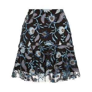 Sandro Jade Embroidered Mini Skirt